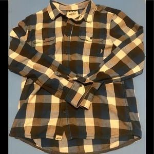 Vans plaid flannel shirt Size L Mens.